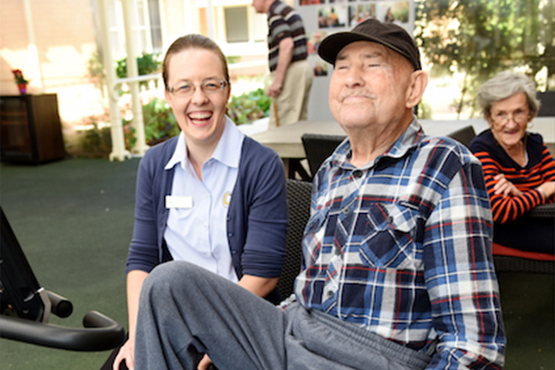 Older people pennaged care
